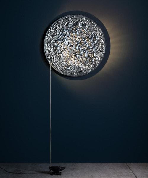 Catellani & Smith Stchu-Moon 08 ø80cm CS SM88LS Zilver