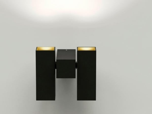Dark Skyline Two DIM CRI90 DA 92102906303025 zwart / zwart
