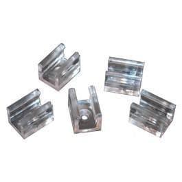 SLV Led tubelight Fastening clips DM 211201 Transparant