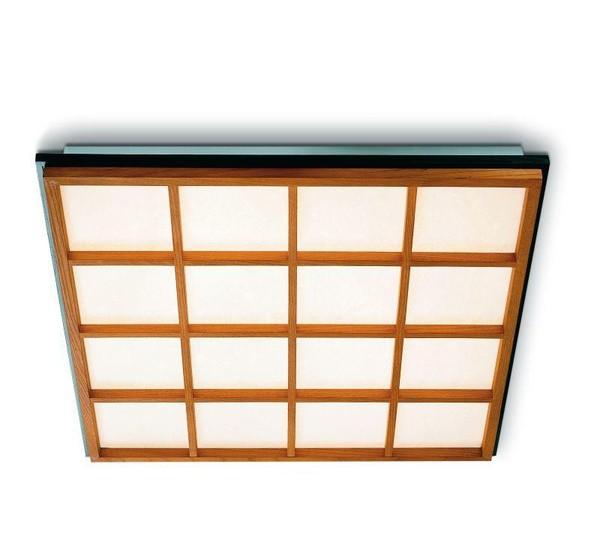 Domus Kioto Plafondlamp, Wandlamp DO 3836.TE.9237 Beukenhout / Zwart