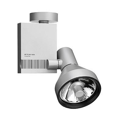 Flos Architectural Compass Spot Ceiling Vertical Gear Box QT-12 DALI AN 03.3308.30.DA Mat wit