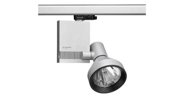 Flos Architectural Compass Spot Track Vertical Gear Box QR-111 DALI AN 03.3605.14.DA mat zwart