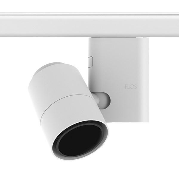 Flos Architectural Pure 1 Spot Pro Track LED Array AN 09.2581.30 Wit