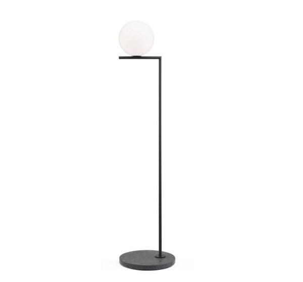 Flos IC Lights F1 Staanlamp voor buiten FL F012A02C030 Zwart / Lavazwart
