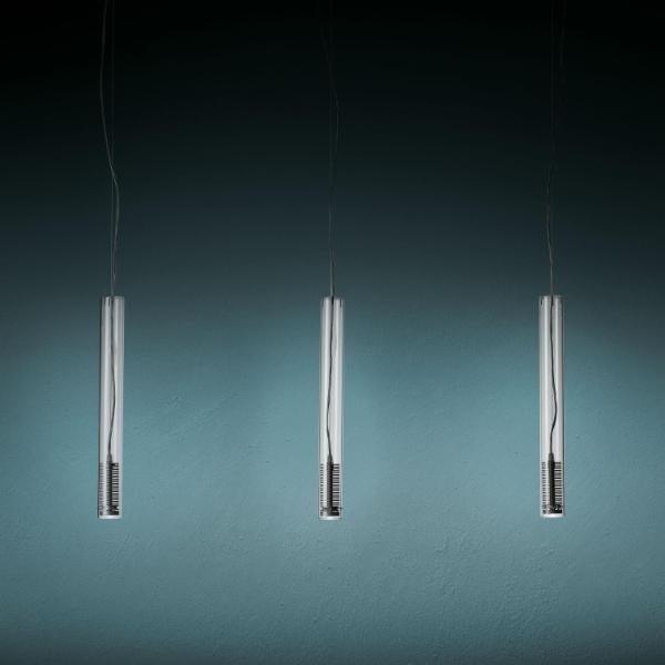Fontana Arte Tubo LED suspension FT 4138/3 Transparant