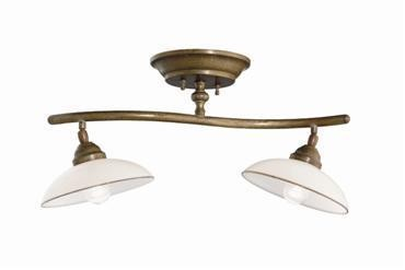 Il Fanale Country Soffitto IF 082.22.OV Messing