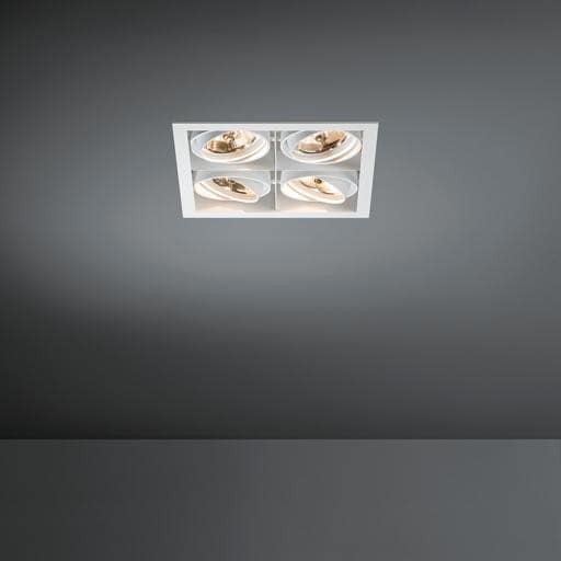 Modular Lighting Mini Multiple 4x AR70 MO 10370429 Wit structuur / Zwart