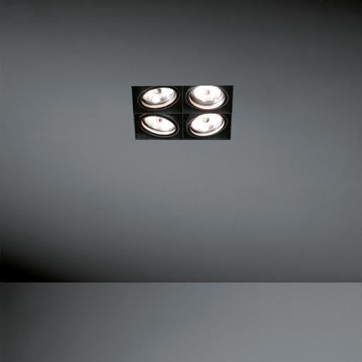 Modular Lighting Mini Multiple MO 10380429 Wit structuur / Zwart