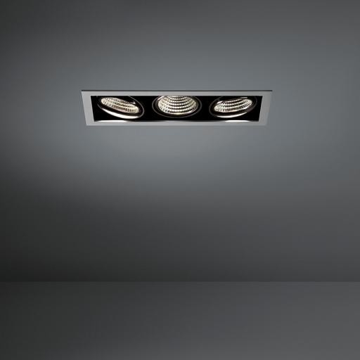 Modular Lighting Mini Multiple MO 11432329 Wit structuur / Zwart