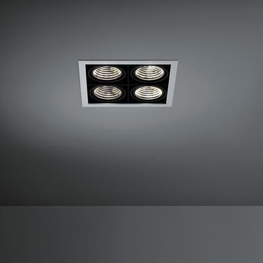Modular Lighting Mini Multiple MO 11433429 Wit structuur / Zwart