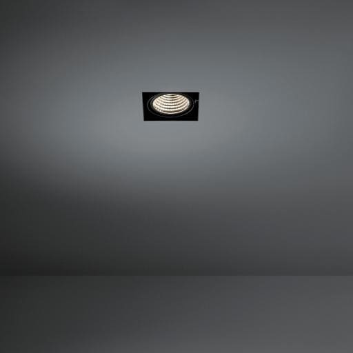 Modular Lighting Mini Multiple Trimless 2x Led MO 11444402 Zwart