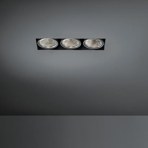 Modular Lighting Mini Multiple Trimless 3x Led MO 11442509 Wit structuur