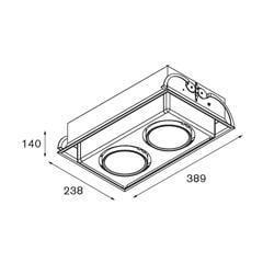 Modular Lighting Multami(e) MO 11334009 Wit structuur