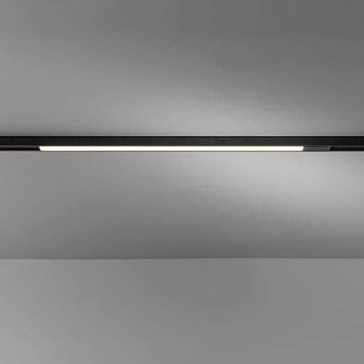 Modular Lighting Pista Linear Track 48V LED 1-10V GI MO 13413532 Zwart structuur