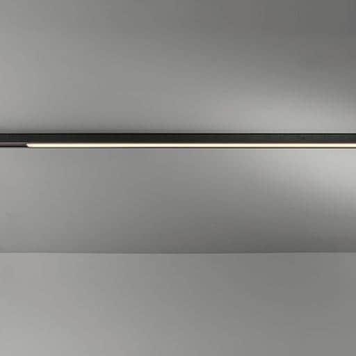 Modular Lighting Pista Linear Track 48V LED Night Light DALI GI MO 13417332 Zwart structuur