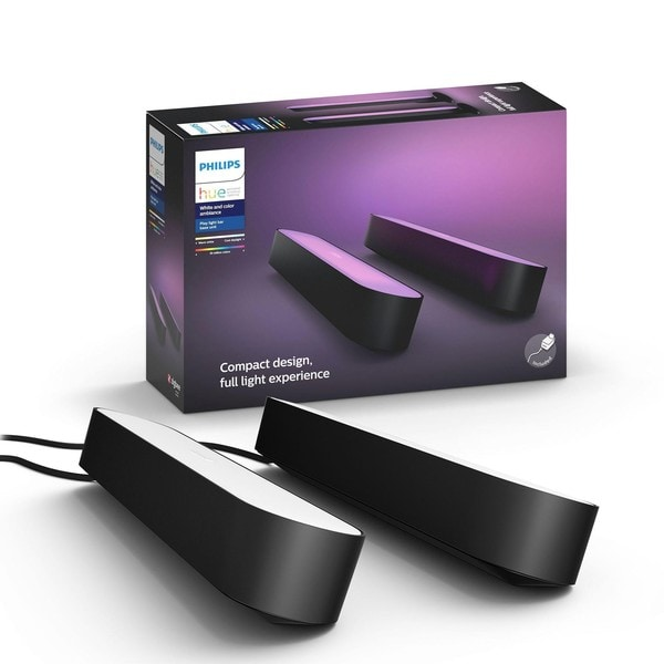 Philips Hue Play White and Color Ambiance Duo Starter Pack MA 7820230P7 Zwart