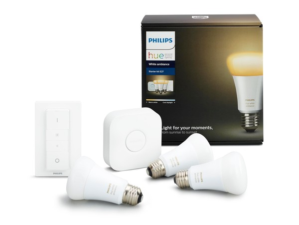 Philips Hue Starterkit White Ambiance (incl. dimmer) MA 72892500 Wit