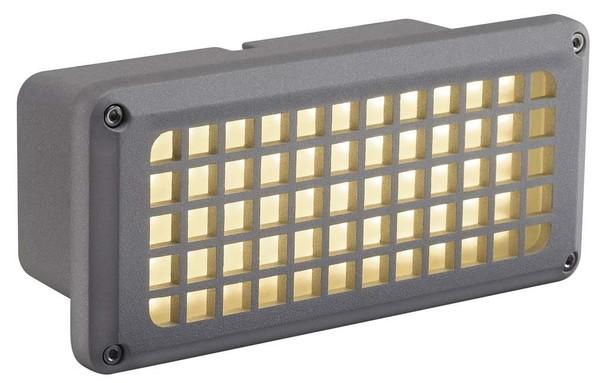 SLV Brick led 230V 8.5W DM 230482 Zilvergrijs