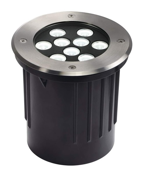 SLV Dasar 9x1W LED DM 230151 Roestvrij staal