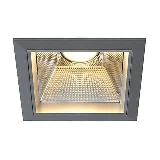 SLV Downlight pro R/T LED 20W DM 162444 Zilvergrijs