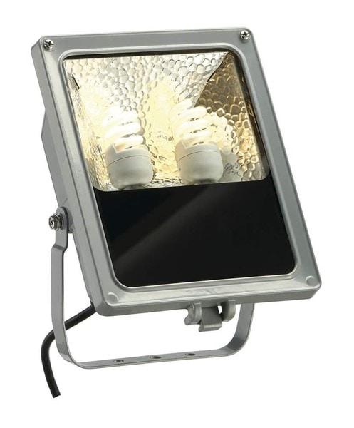 SLV SXL floodlight Compact DM 227804 Zilvergrijs