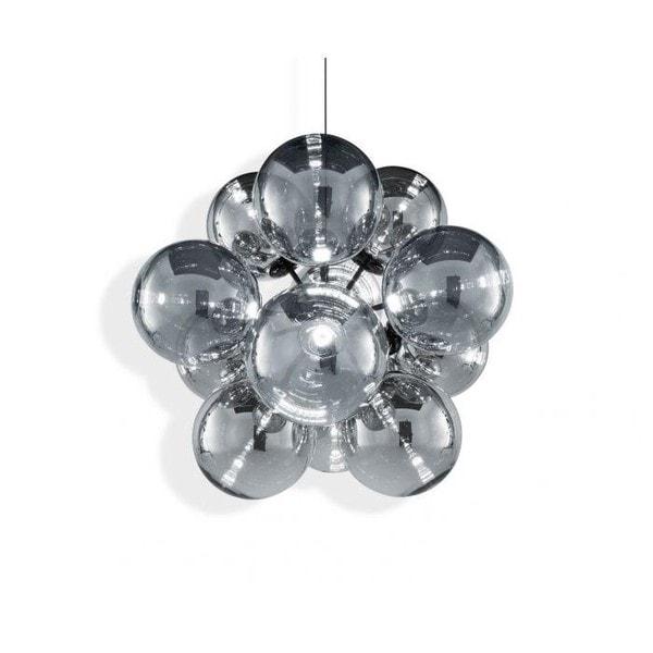 Tom Dixon Globe Burst Chandelier LED TD GLC03CHBK-CEUM4 Chroom